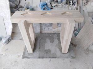 Comedor con bases de marmol y mesas de lima posot class for Mesas de marmol para comedor