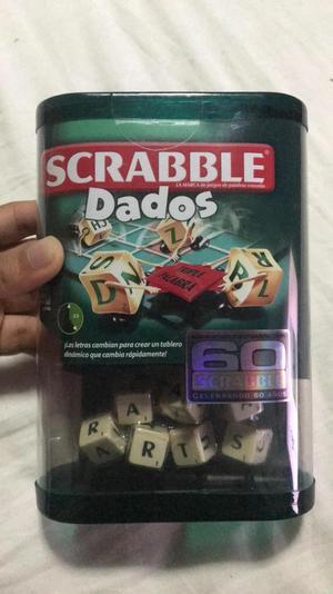 Scrabble Dados Nuevo Juego De Mesa Posot Class