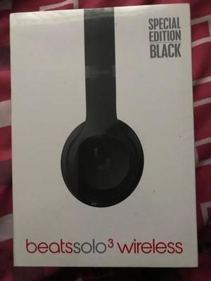 VENDO Audífonos BEATS By Dr. Dre Solo 3 Wireless SE