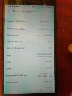 Vendo O Cambio Huawei P9 Lite Liberado