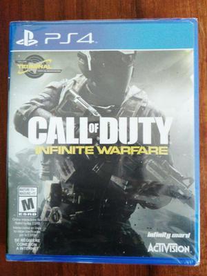 Call of Duty Infinite Warfare Juego PS4 Nuevo y Sellado en