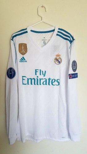 Camiseta Real Madrid  Adizero Manga Larga