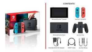 Nintendo Switch Neon Blue Consola Nuevo 22 Enero