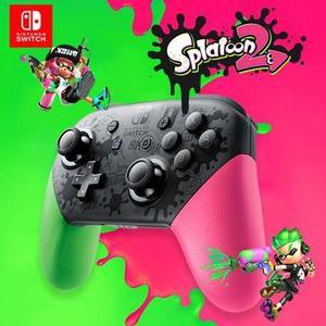 Nintendo Switch Pro Controller Edición Splatoon 2 Nuevo