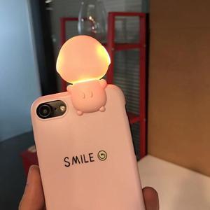 Case para iPhone 7 con Luz para Selfie Modelo Smile