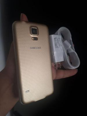 Samsung Galaxy S5 Dorado Nuevo