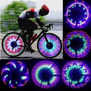 Luces Led Para Bicicleta Moto 32 Leds Decorativas Para Rueda