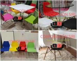 Sillas para comedor precios imperdibles posot class for Juego de mesas y sillas para comedor precios