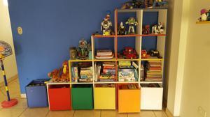 Mueble organizador juguetes canastas posot class - Mueble organizador de juguetes ...