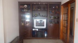 Mueble para Sala de Televisión o Entretenimiento en Caoba