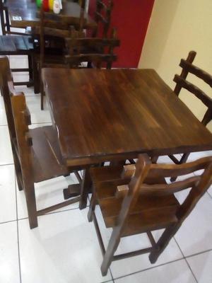 Vendo Mesas con Un Mes de Uso