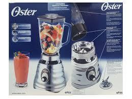 clasica Licuadora Oster® Plateada de 3 Velocidades