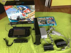 Consola Nintendo Wii U 32gb Mario Kart 8 Deluxe Set