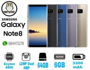 Galaxy Note 8 64gb Entrega de 1 a 2 Días
