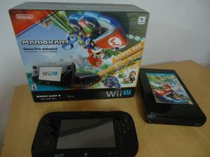Vendo O Cambio Wii U 32gb Mario Kart 8