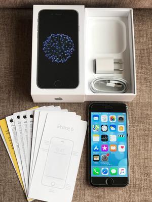 iPhone 6 de 32Gb Libre con Caja Y Cargador