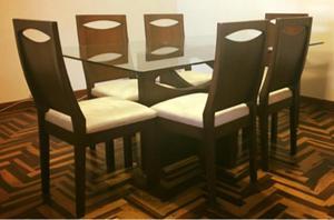 Mesa de comedor super moderna tendencia lineal posot class - Mesa comedor vidrio ...