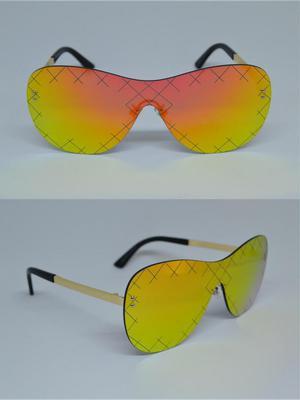 Lentes de sol exclusivos estilo aviador UV400