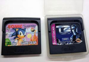 Sonic 1 Y Terminator 2 - Juegos Sega Game Gear