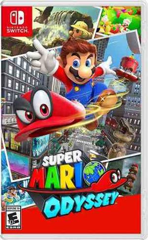 Super Mario Odyssey Nintendo Switch Nuevo Sellado