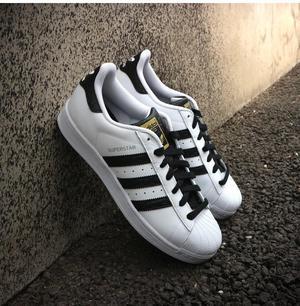 Zapatillas Adidas Superstar Talla 8.5 Us, 42 Originales