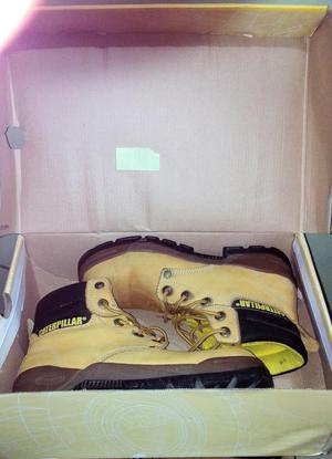 Zapatos de Seguridad CATERPILLAR punta de acero