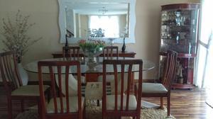 Comedor con bases de marmol y mesas de lima posot class for Juego de comedor de vidrio
