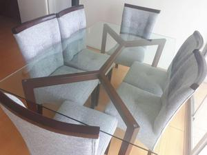 Sillas para comedor precios imperdibles posot class for Comedor 6 sillas precio