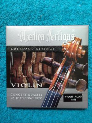 Juego de Cuerdas para Violin Marca: Medina Artigas Serie: