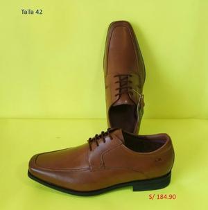 Zapatos De Cuero De Vestir Y Mocasín - Calimod Para Hombre