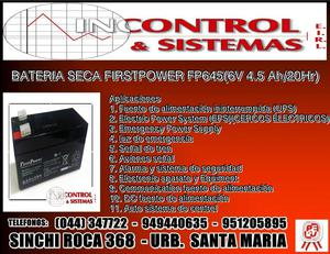 BATERIA SECA FIRST POWER