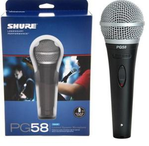Micrófono Shure Pg58 Nuevo en Caja