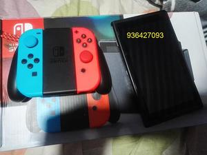 vendo mi nintendo switch de 32 gb con juegos