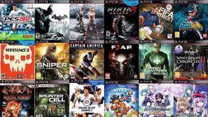 vendo video juegos de play3 a 40 soles