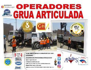 Homologacion, Certificación y Capacitación de Operadores