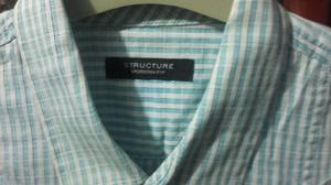 Remato Camisa Marca Structure Moder Fit
