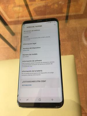 SAMSUNG GALAXY S8 PLUS DETALLE