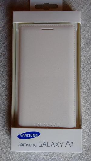 Flip Cover Samsung Galaxy A3! White Color Original!