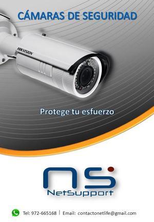 Cámaras de Seguridad CCTV Monitorea tu local desde