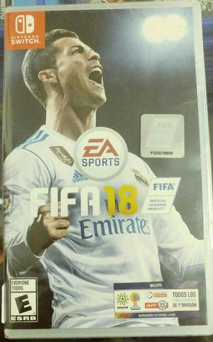 Fifa 18 para Nintendo Switch Sellado