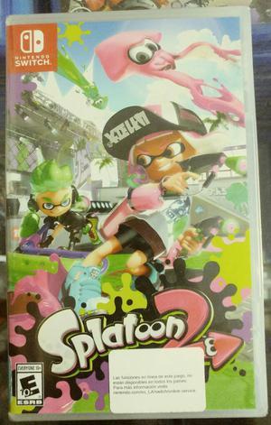 Splatoon 2 Nintendo Switch Sellado