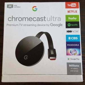 Google Chromecast Ultra 4k Caja Sellada