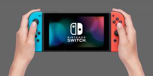 Nintendo Switch Consola Neon Blue Red Nuevo Sellado