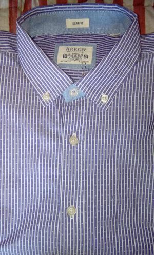 Camisa Arrow Talla L Nueva Original Para Caballero