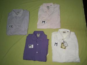 Camisa Mason Nuevo Algodon 100 pima Tallas M y XXL