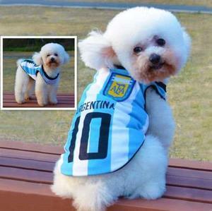 Fútbol; Chaleco Para Mascota (perro/gato) Raza Pequeña Y