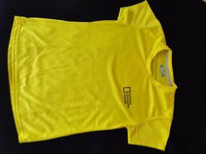 Polo básico amarillo manga corta