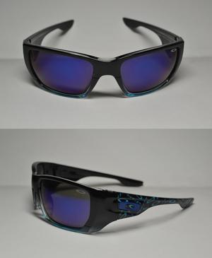 lentes de sol okly en stock UV400 tornasol azul