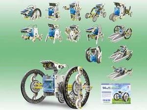 Robot Solar 14 En 1 - No Compatible Con Lego