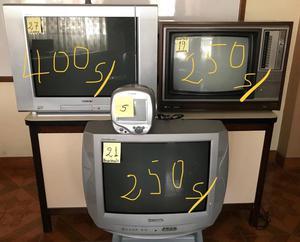 Televisores en buen estado de funcionamiento